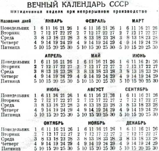 вечный календарь скачать бесплатно - фото 9
