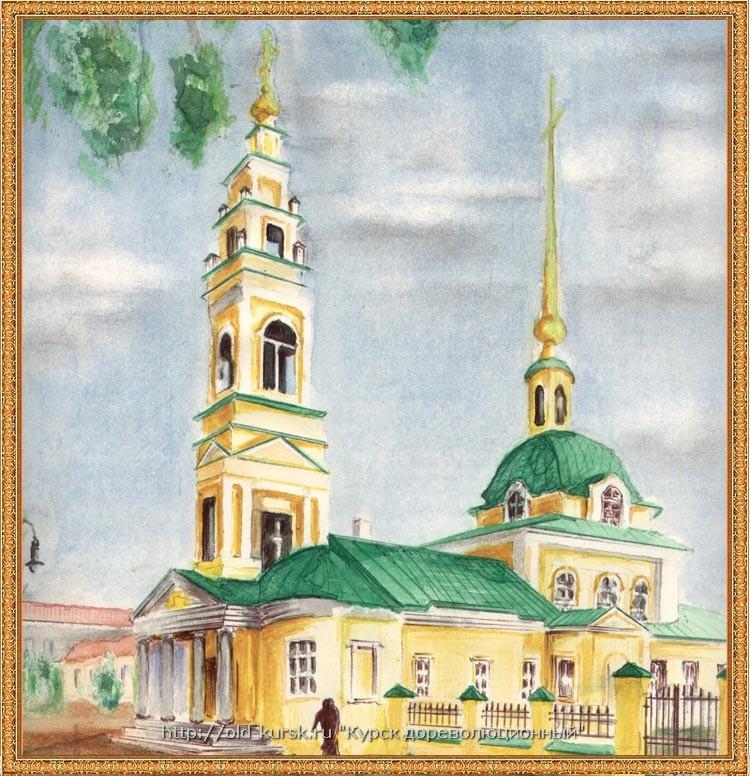 Нарисовать храм акварелью 186